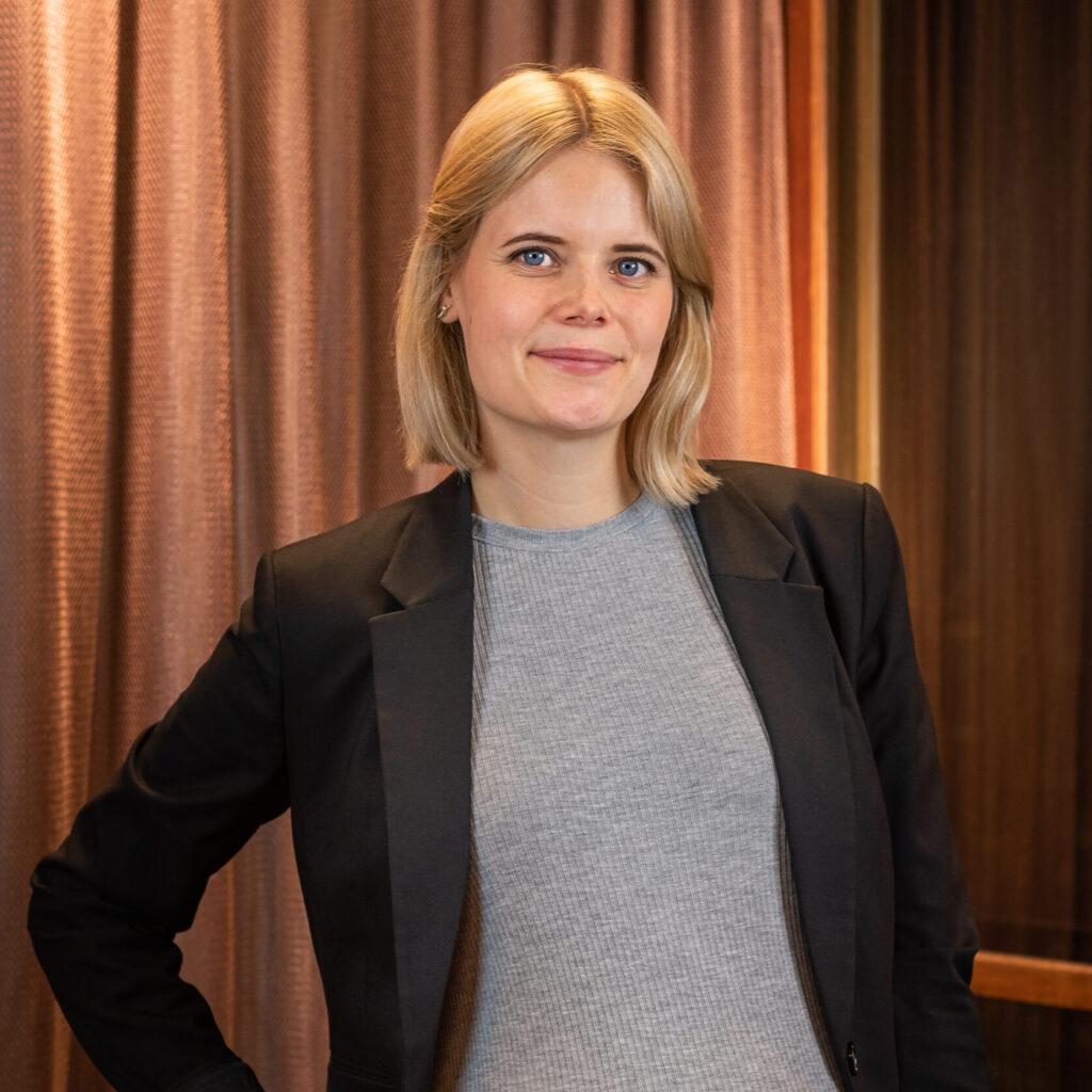 Johanna Blom - föräldraledig